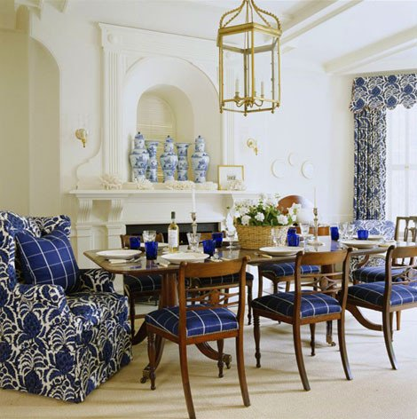 Blue and White Room Decor Awesome Blue and White Rooms