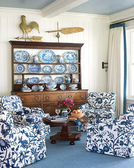 Blue and White Room Decor Best Of Blue and White Rooms