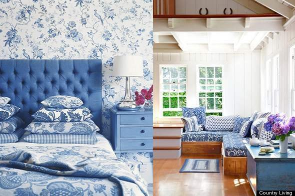 Blue and White Room Decor Best Of Color Diary Decorating Blue and White Rooms Video
