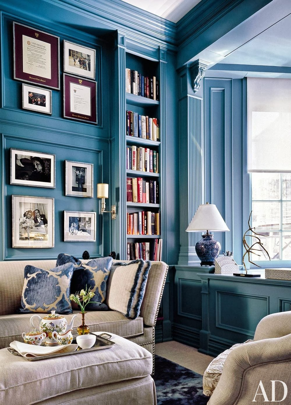Blue and White Room Decor Fresh Mix and Chic Gorgeous Blue and White Rooms