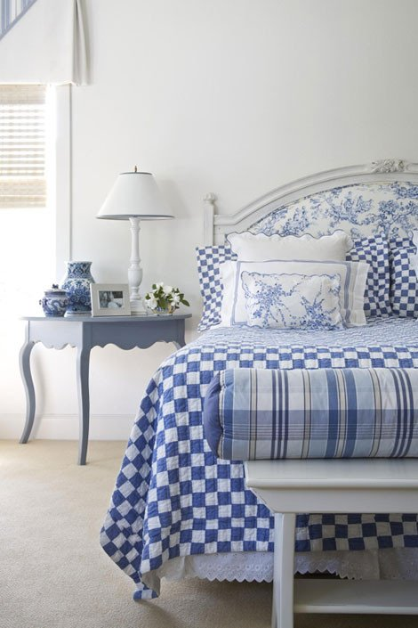 Blue and White Room Decor Inspirational Blue and White Rooms