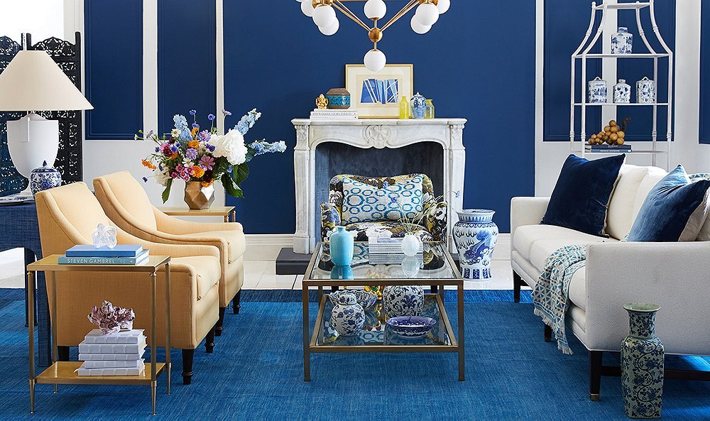Blue and White Room Decor Unique Stylist Challenge Blue and White Rooms