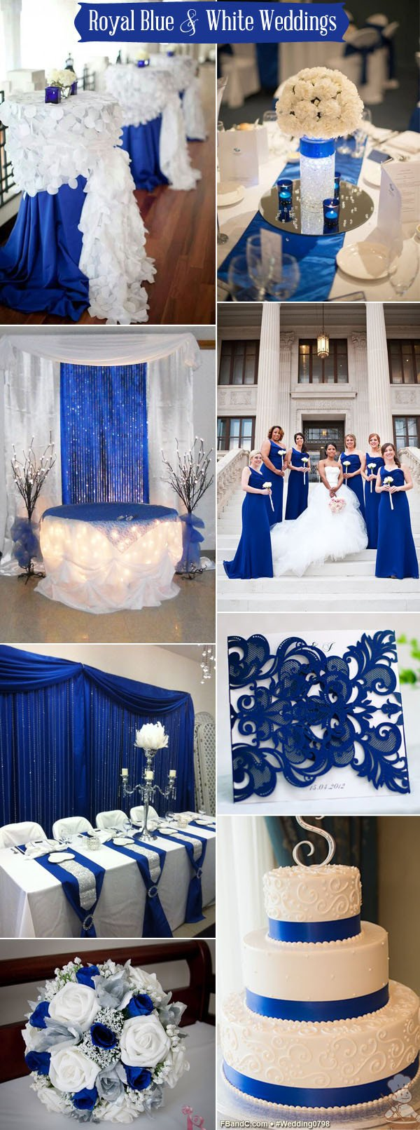 Blue and White Wedding Decor Awesome Ten Prettiest Shades Of Blue for 2017 Wedding Color Ideas – Elegantweddinginvites Blog