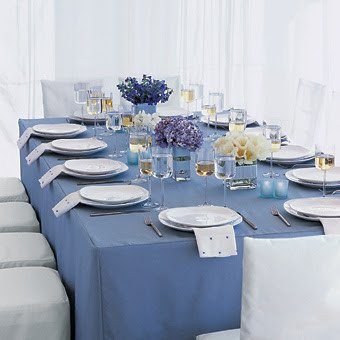 Blue and White Wedding Decor Awesome Wedding Inspiration Center Charming Blue and White Wedding Decoration
