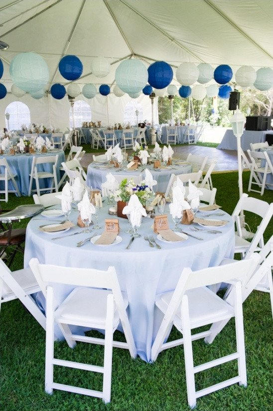 Blue and White Wedding Decor Best Of Rustic Blue and White Wedding