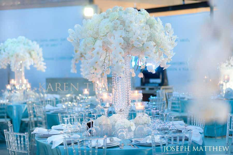 Blue and White Wedding Decor Inspirational Inspiration Ballet Shoes and Ostrich Feathers Simple Elegance by Laura
