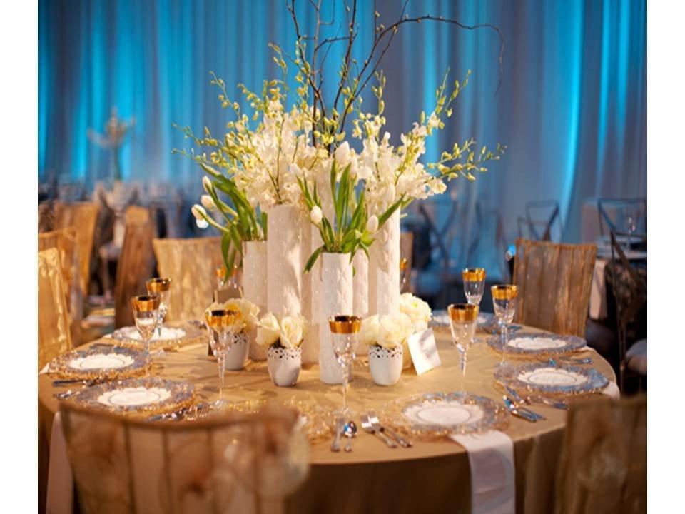 Blue and White Wedding Decor Luxury Blue and White Wedding Reception Decorations