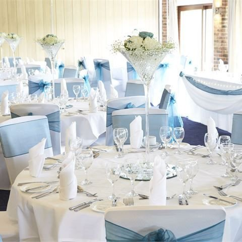 Blue and White Wedding Decor New Inspiration Gallery for Blue Wedding Decor Donna & andy's Big Day In 2019