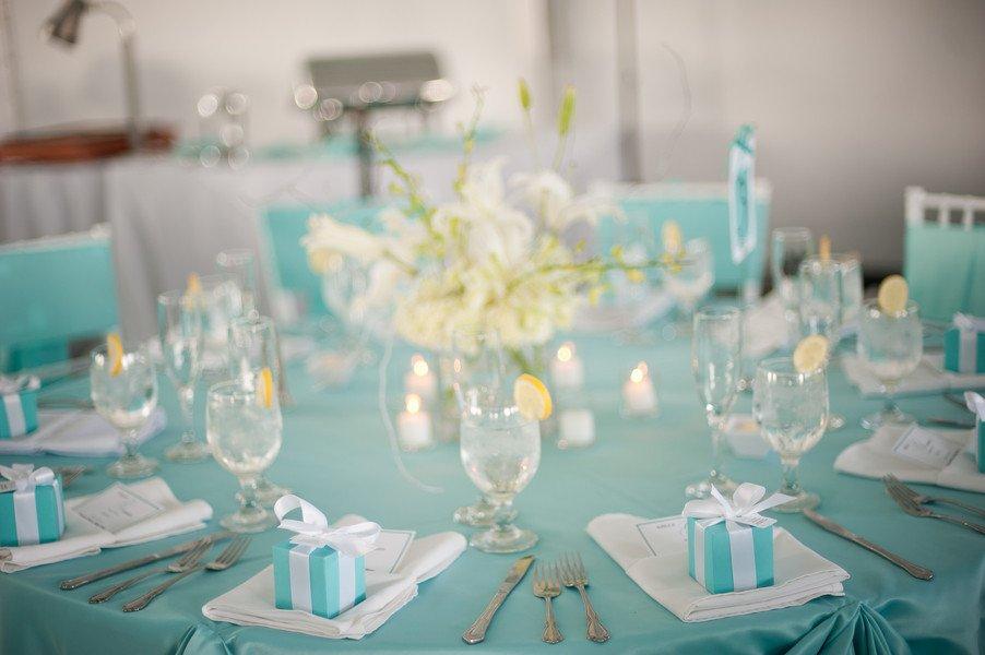 Blue and White Wedding Decor Unique Blue and White Wedding Reception Decorations