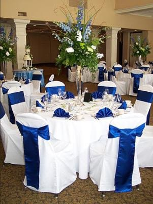 Blue and White Wedding Decor Unique Blue Wedding theme
