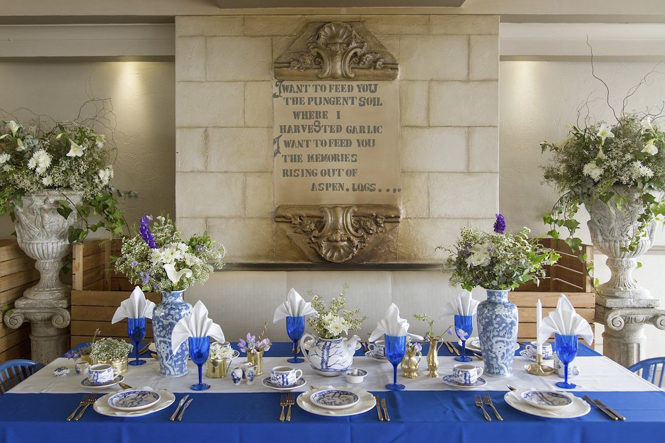 Blue and White Wedding Decor Unique Royal Blue Gold White Grecian Inspired Wedding Ideas sonje Ludwick Graphy