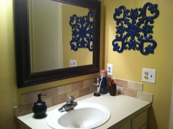 Blue and Yellow Bathroom Decor Beautiful Navy and Yellow Bathroom Rugs