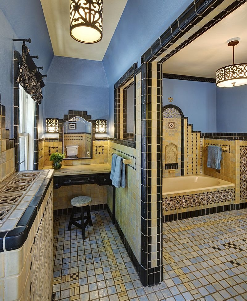 Blue and Yellow Bathroom Decor Elegant Trendy Twist to A Timeless Color Scheme Bathrooms In Blue and Yellow