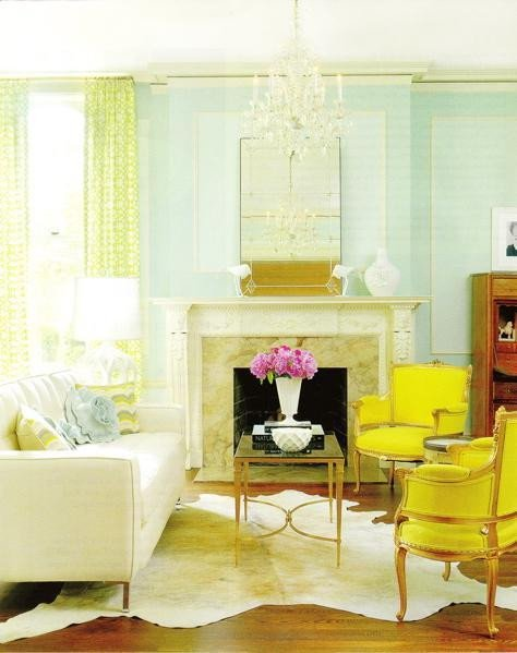 Blue and Yellow Home Decor Awesome A Fresh Take On Yellow and Blue Decorating the Decorologist