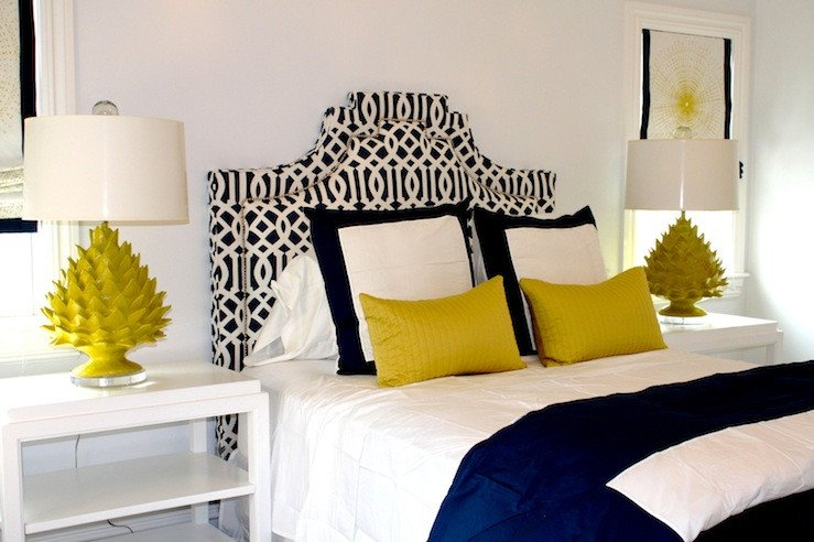 Blue and Yellow Home Decor Beautiful Color Scheme Yellow and Navy Blue