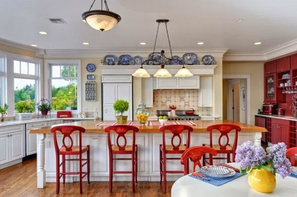 Blue and Yellow Kitchen Decor Best Of Old Things New – to Curtain or Not to Curtain