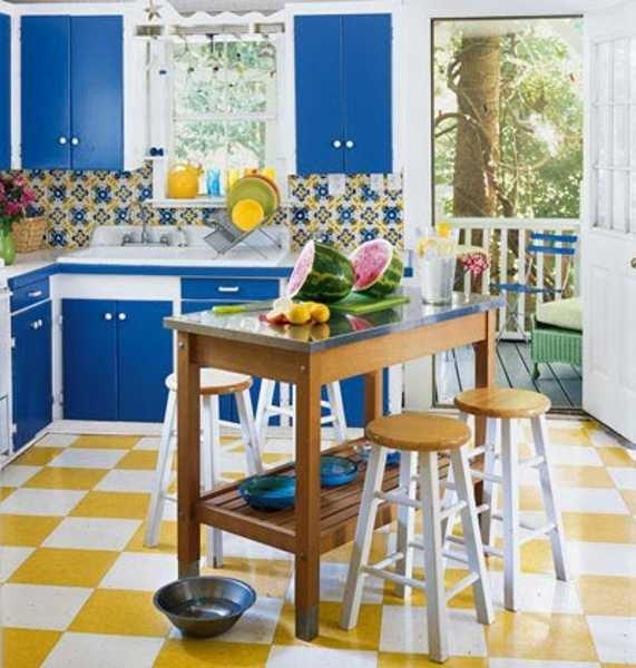 Blue and Yellow Kitchen Decor Fresh 16 Ideas Bringing Bright Room Colors Into Modern Interior Design and Decor