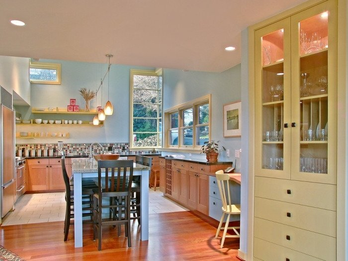 Blue and Yellow Kitchen Decor Fresh French Country Style Kitchen