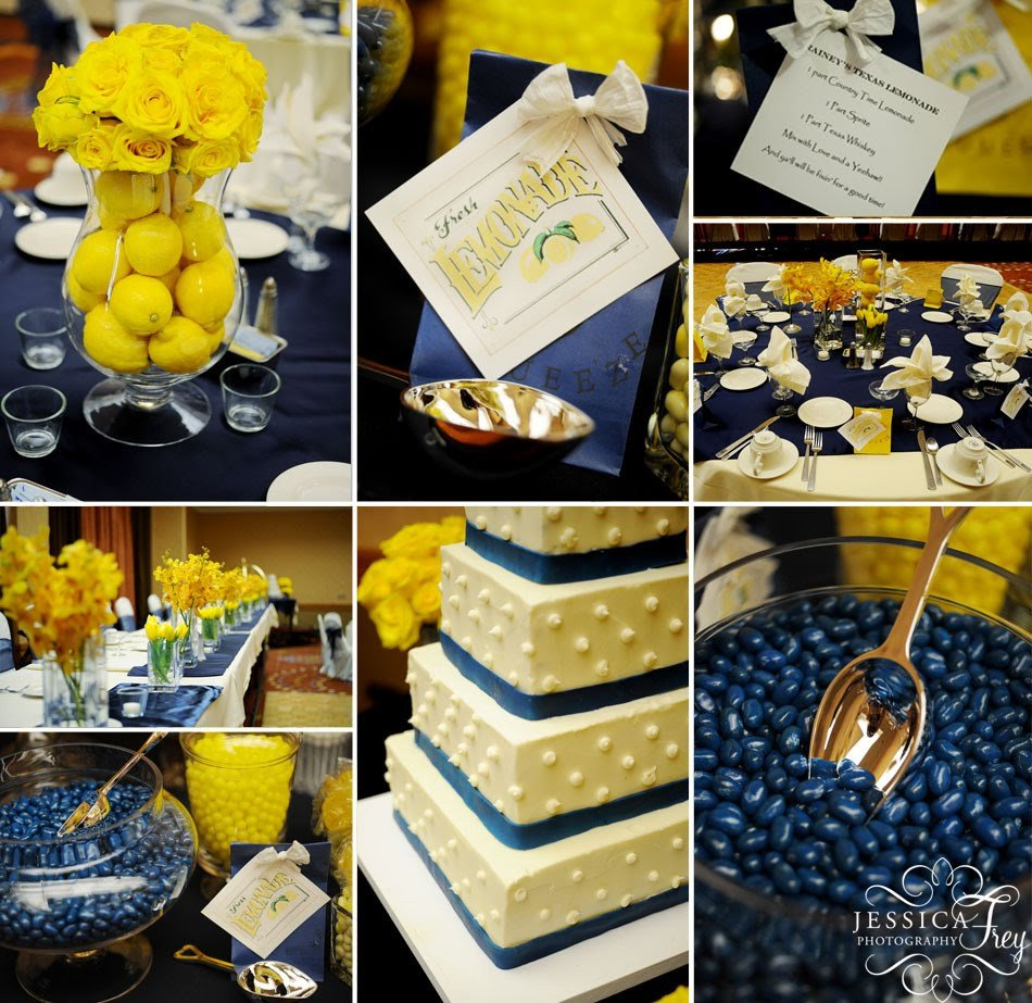 Blue and Yellow Wedding Decor Lovely Inspirations for Blue and Yellow Wedding Colors Everafterguide