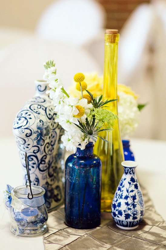 Blue and Yellow Wedding Decor Luxury Blue and Yellow Wedding at Baylor School