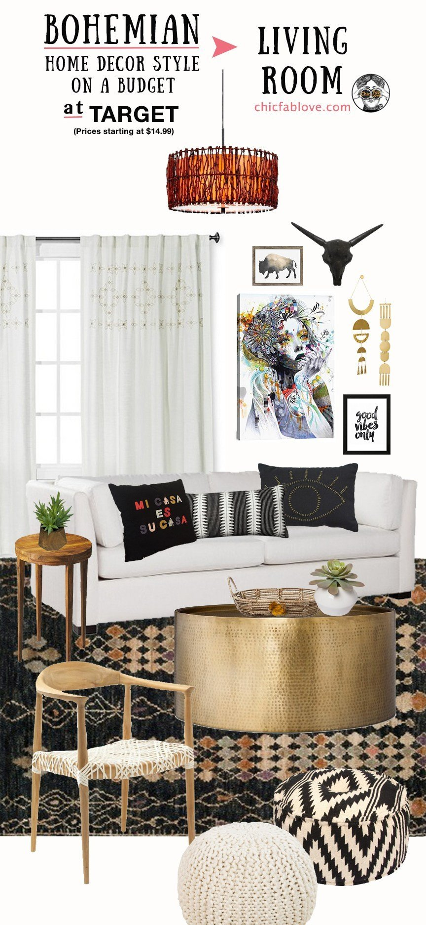 Bohemian Decor On A Budget Awesome Bohemian Home Decor Style On A Bud at Tar Chic Fab Love