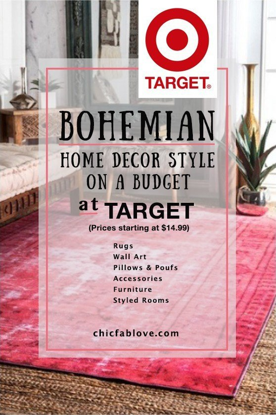Bohemian Decor On A Budget New Bohemian Home Decor Style On A Bud at Tar Chic Fab Love