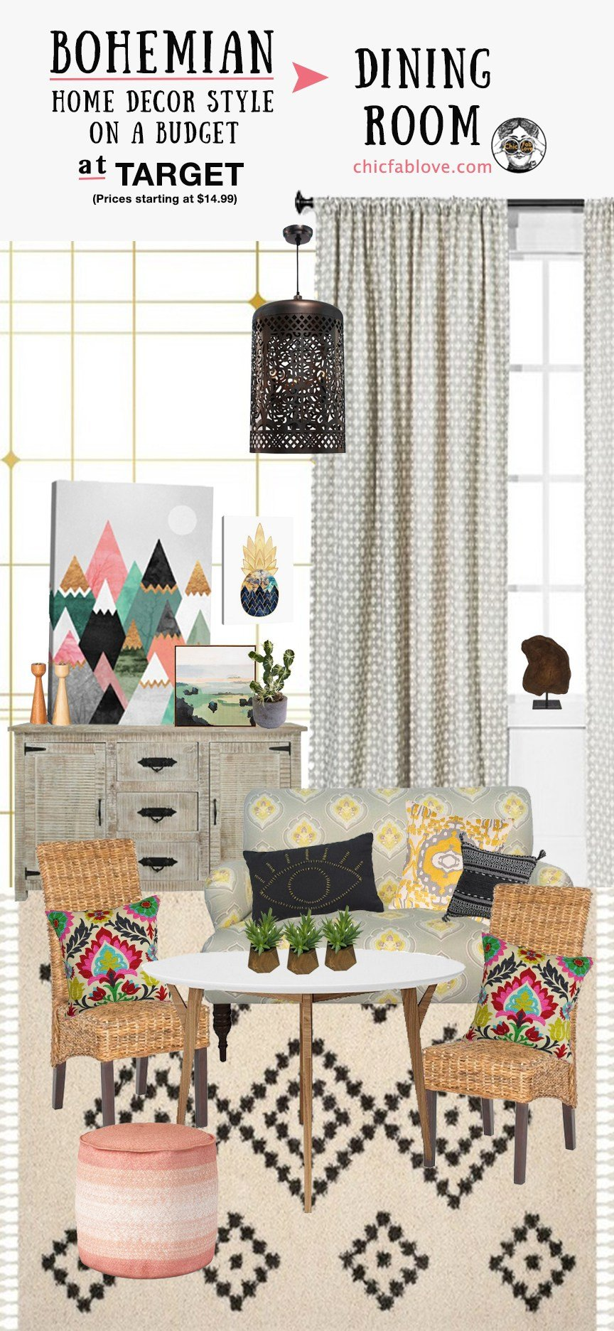 Bohemian Decor On A Budget Unique Bohemian Home Decor Style On A Bud at Tar Chic Fab Love