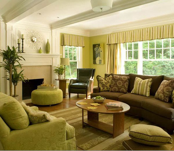 Brown Living Room Decorating Ideas Beautiful 28 Green and Brown Decoration Ideas