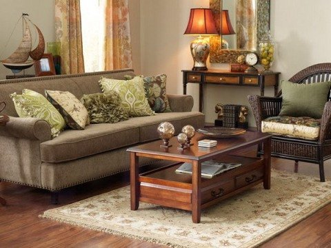 Brown Living Room Decorating Ideas Unique Green and Brown Living Room Decor Interior Design