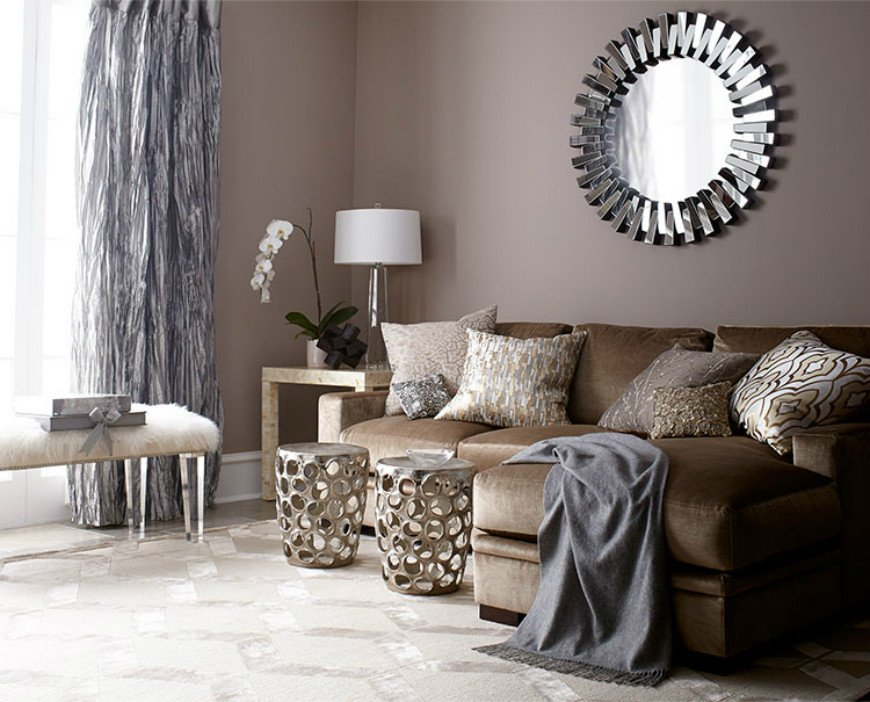 Brown Living Room Decorating Ideas Unique Living Room Design Ideas In Brown and Beige