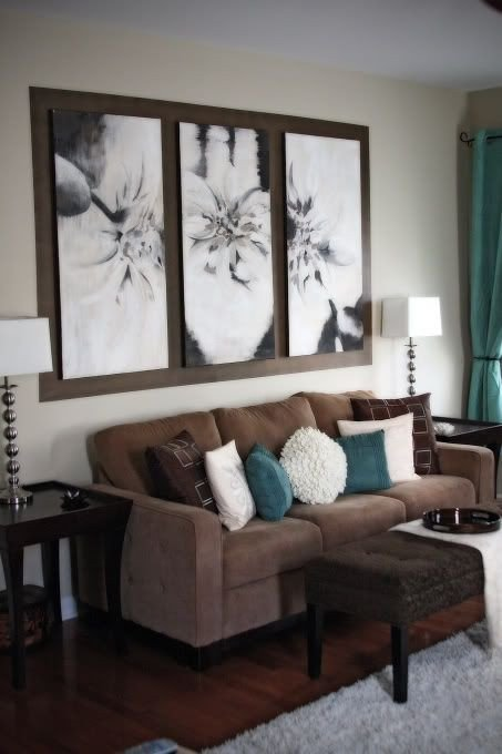 Brown Living Room Ideas Awesome 26 Cool Brown and Blue Living Room Designs Digsdigs