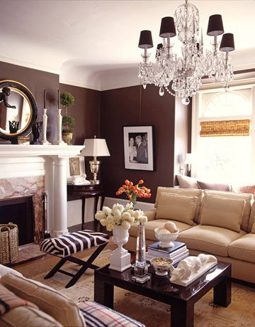 Brown Living Room Ideas Beautiful Brown Home Decor Ideas by Demattei and Wade