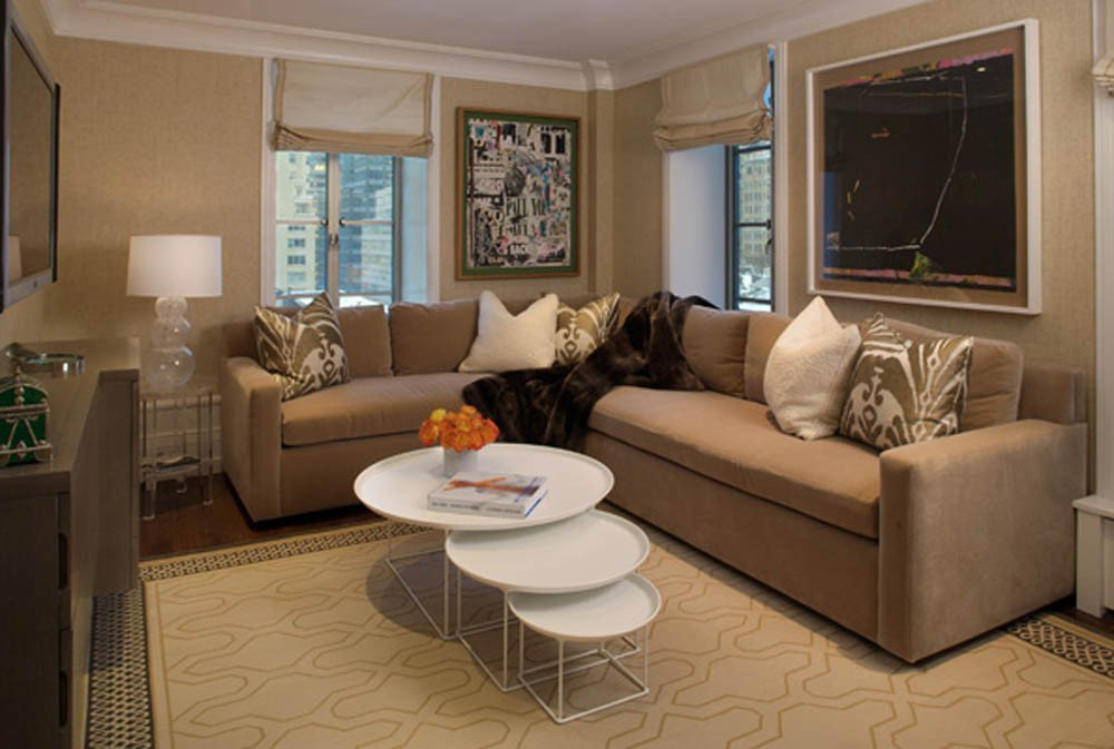 Brown Living Room Ideas Inspirational Airy Brown and Cream Living Room Designs Inspired From Outdoor Colors