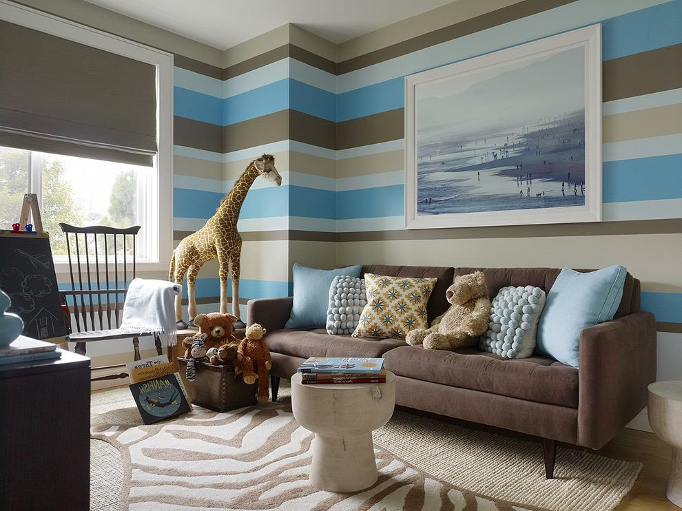Brown Living Room Ideas Lovely 15 Brown and Blue Living Room Design Ideas to Try