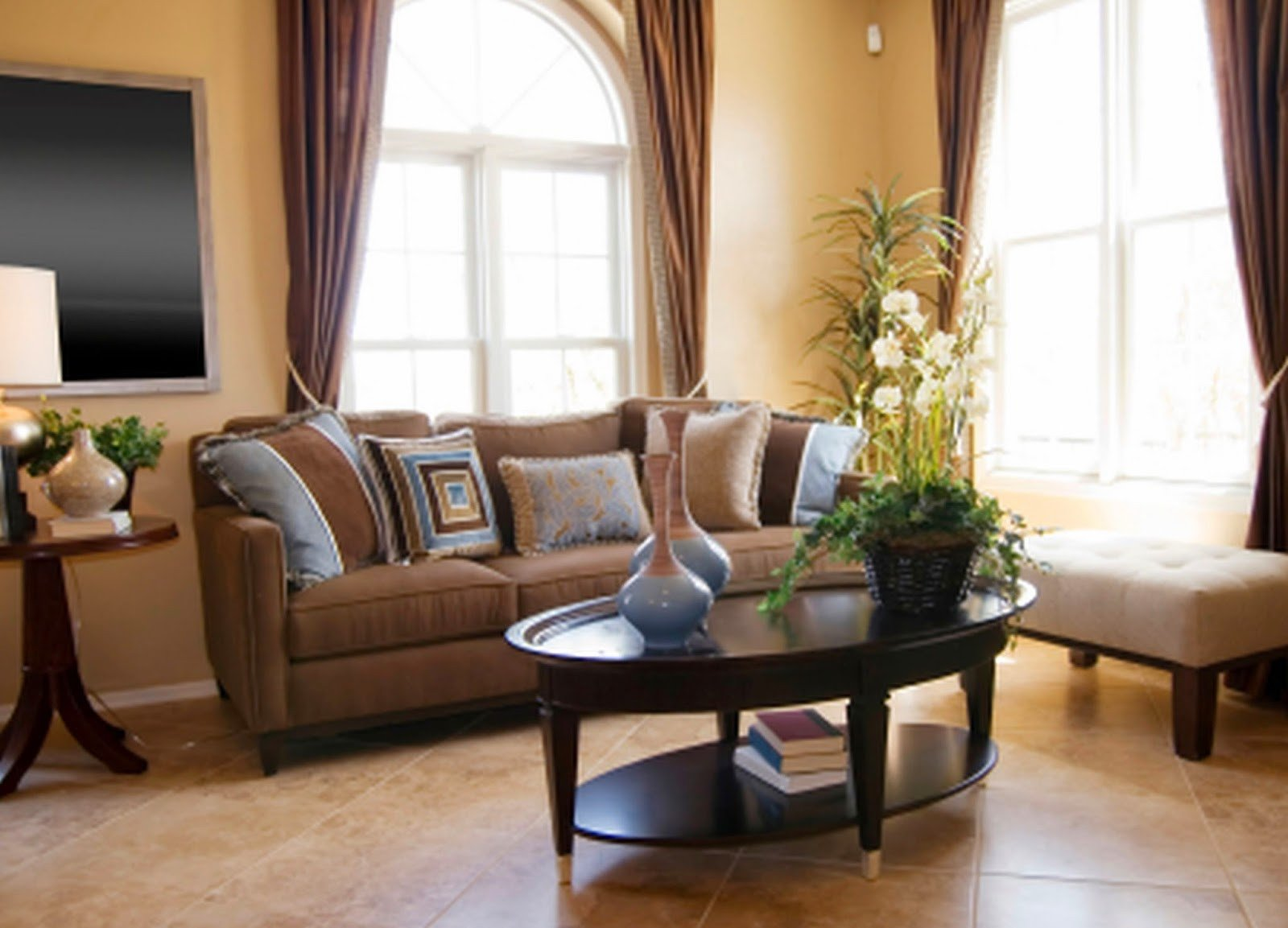 Brown Living Room Ideas Lovely 2 Living Room Decor Ideas Brown Leather sofa