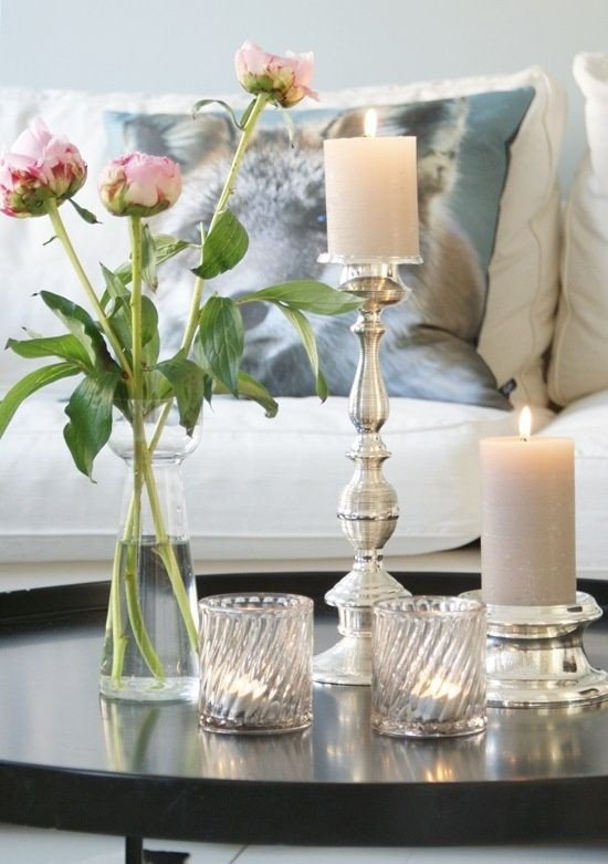 Candle Decor for Coffee Table Awesome Casa Decoração Reciclados Interiores Detalhes Que Inspiram E Fazem A Diferença