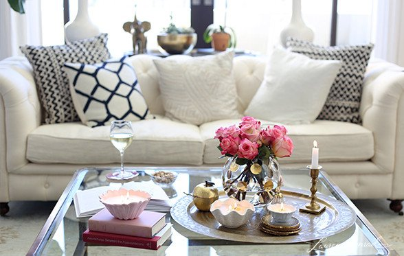 Candle Decor for Coffee Table Inspirational Inspired Idea How to Decorate with Candles Lauren Conrad