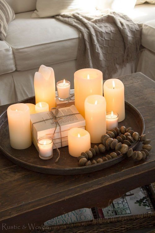 Candle Decor for Coffee Table Lovely Four Simple Ways to Style Your Coffee Table Style Me Pretty
