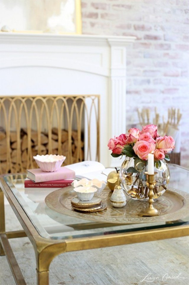 Candle Decor for Coffee Table Lovely Spring Decorating with Moroccan Trays Casa Watkins Living