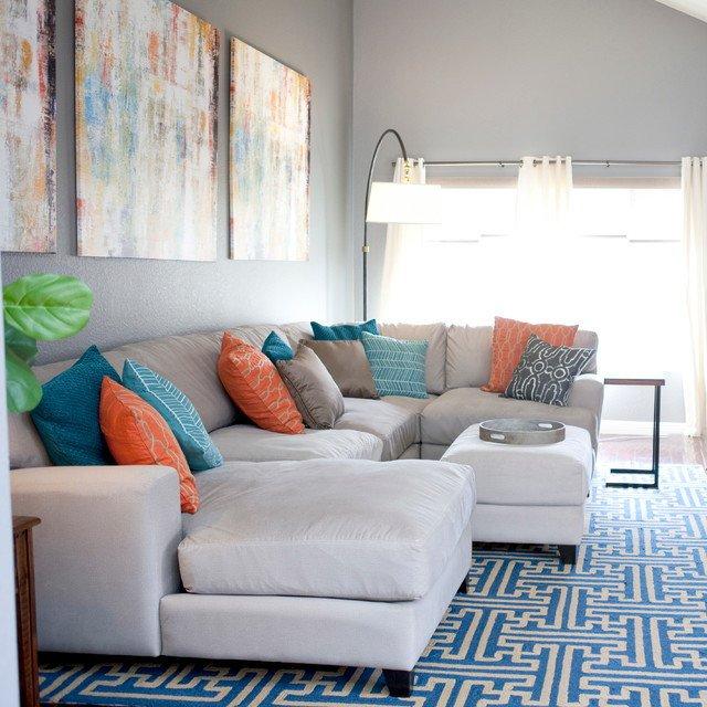 Casual Contemporary Living Room Inspirational Casual Contemporary