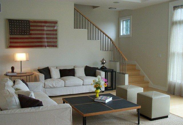 Casual Contemporary Living Room Inspirational Casual Living Room Modern Living Room New York by Ljl Design Llc