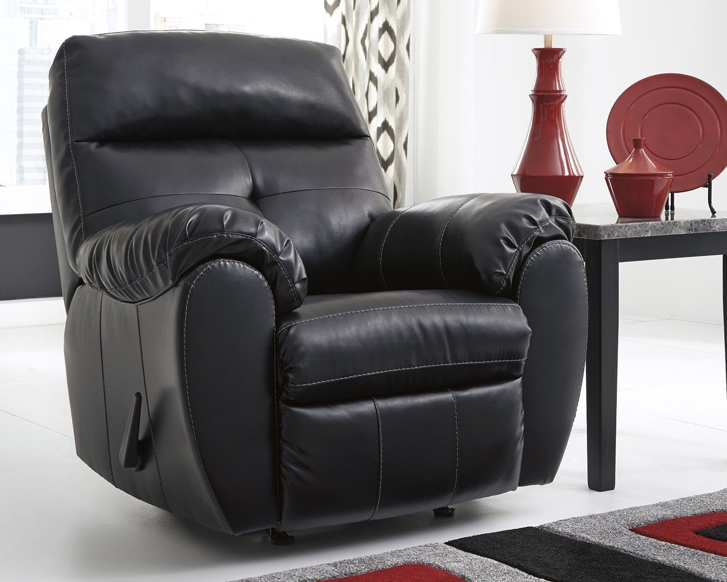 Casual Contemporary Living Room Inspirational Midnight Black Casual Contemporary Living Room Furniture Set by ashley