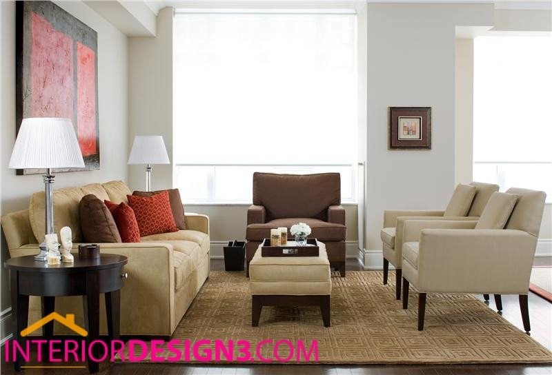 Casual Contemporary Living Room Luxury Casual Contemporary Living Room Design