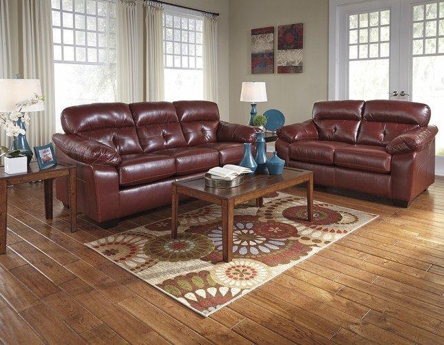 Casual Contemporary Living Room New Crimson Dark Red Casual Contemporary Living Room Furniture Set ashley