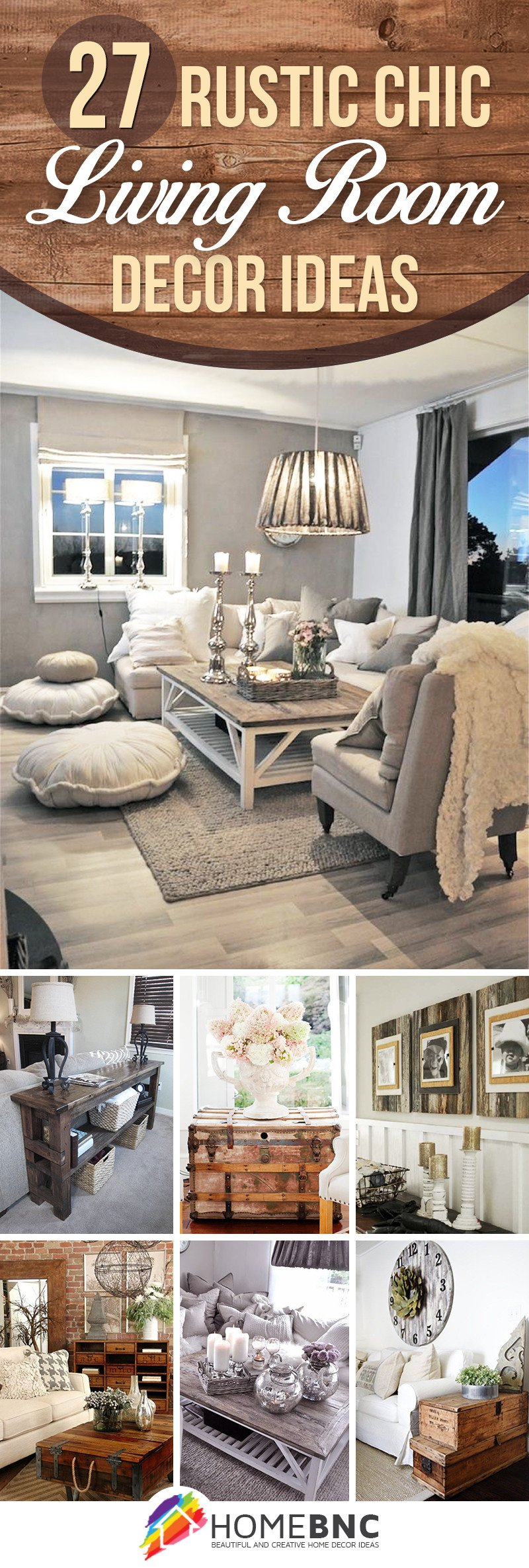 Chic Small Living Room Ideas Elegant 27 Best Rustic Chic Living Room Ideas and Designs for 2017