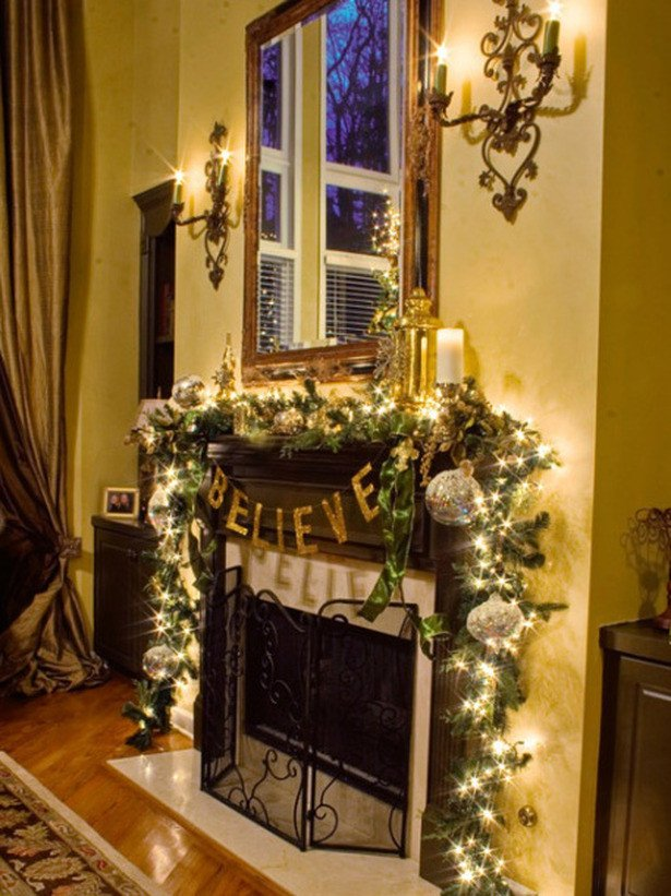 Christmas Decor for Fireplace Mantels Beautiful Christmas and Holiday Mantel Designs and Ideas Design Trends Blog