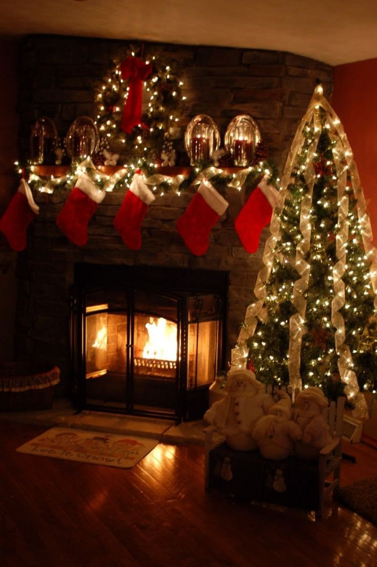 Christmas Decor for Fireplace Mantels Beautiful Safety Tips for Holiday Decorating Mantels & Fireplaces
