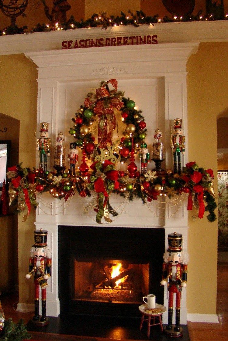 Christmas Decor for Fireplace Mantels Elegant Prepare Your Home for Christmas