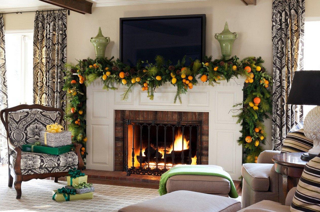 Christmas Decor for Fireplace Mantels Lovely Christmas Mantel Decor Inspiration