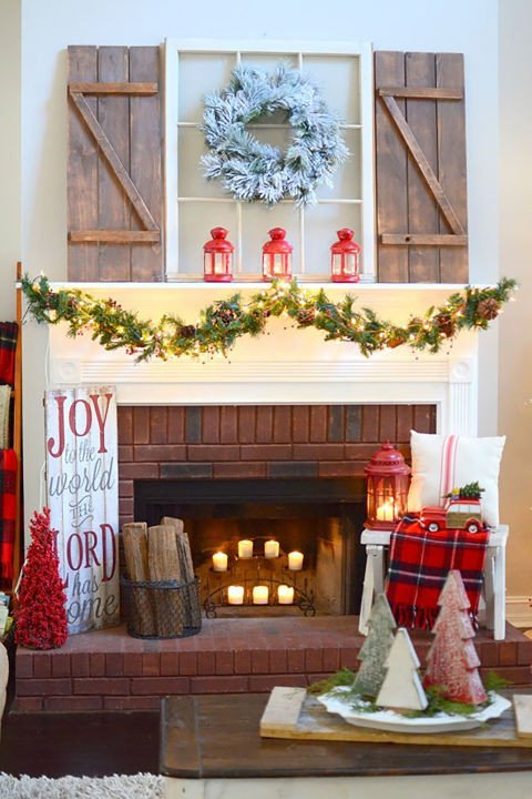 Christmas Decor for Fireplace Mantels New 16 Lovely Diy Christmas Mantel Decor Ideas You Must See